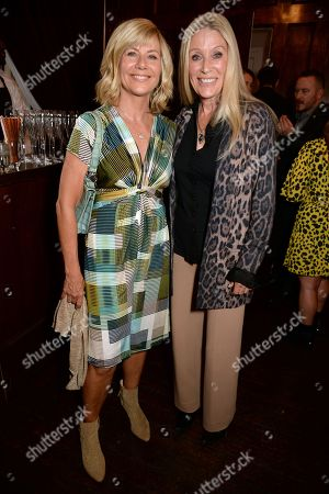 Stock Picture of Glynis Barber and Angie Best