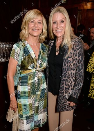 Glynis Barber and Angie Best