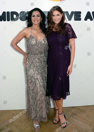 Lady Wilnelia Merced and Lisa Snowdon