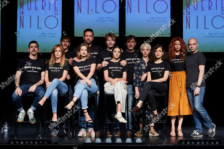 Editorial picture of 'Muerte en el Nilo' play photocall, Madrid, Spain - 13 Sep 2018
