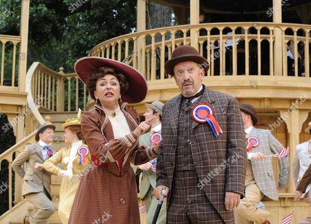 'Hello Dolly!' - Samantha Spiro (Dolly) and Allan Corduner (Horace)