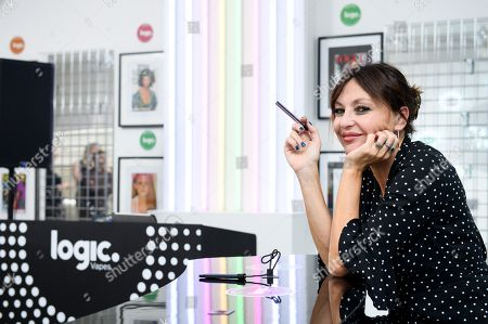 Pearl Lowe has partnered with vaping brand, Logic, to create the 'London Logic'