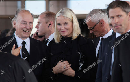 Mette-Marit, Crown Princess of Norway, center, leaves after the funeral service of former U.N. Secretary-General Kofi Annan, at the Accra International Conference Center in Ghana . Former United Nations Secretary-General Kofi Annan was buried Thursday after a three-day funeral and ceremony