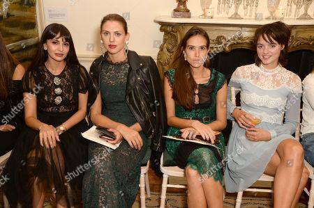 Zara Martin, Sabrina Percy, Natalie Salmon and Alexandra Montcrieff