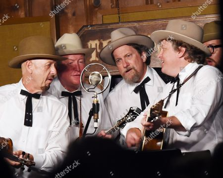 Stock Image of The Earls of Leicester - Jerry Douglas (3rd. from left) and Shawn Camp
