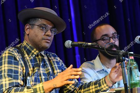 Singer/Songwriters Dom Flemons and Steven Lewis