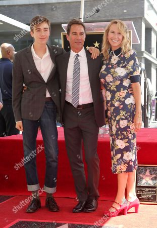 Finnigan McCormack, Eric McCormack and Janet Holden