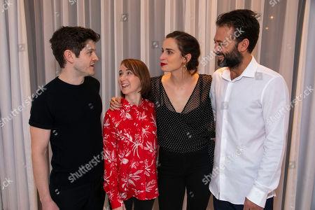 Iwan Rheon (William Bloor), Bryony Hannah (Sarah Box), Heida Reed (Judith Covey) and Paul Nicholls (Samuel Covey)
