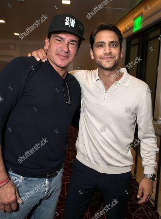 Tamer Hassan and Luke Pasqualino
