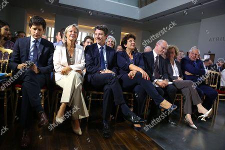 Julien Denormandie, Sophie Cluzel, Benjamin Griveaux, Frederique Vidal, Jean-Michel Blanquer, Muriel Penicaud and Jacques Mezard