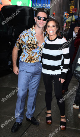 Editorial image of 'Dancing with the Stars' press junket, New York, USA - 12 Sep 2018
