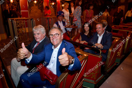 Editorial photo of CanCan Coaster grand opening, Europa-Park, Rust, Germany - 12 Sep 2018
