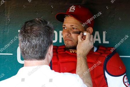 Editorial photo of Dodgers Cardinals Baseball, St. Louis, USA - 13 Sep 2018