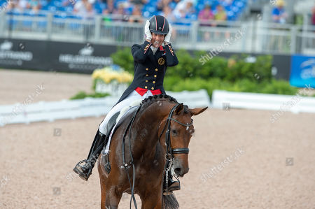 Charlotte DUJARDIN (GBR) & MOUNT ST JOHN FREESTYLE - Dressage - Grand Prix Special - FEI World Equestrian Games- Tryon 2018 - Tryon, North Carolina, USA - 14 September 2018