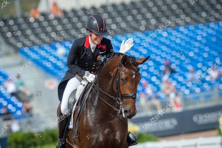 Charlotte DUJARDIN (GBR) & MOUNT ST JOHN FREESTYLE - Dressage - Team Competition & Individual Qualifier (Grand Prix) - FEI World Equestrian Games- Tryon 2018 - Tryon, North Carolina, USA - 13 September 2018