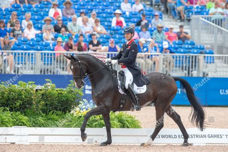 Editorial picture of FEI World Equestrian Games- Tryon 2018 - North Carolina, USA