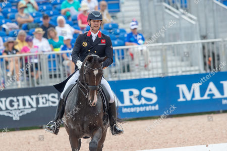 Spencer WILTON (GBR) & SUPER NOVA II - Dressage - Team Competition & Individual Qualifier (Grand Prix) - FEI World Equestrian Games- Tryon 2018 - Tryon, North Carolina, USA - 12 September 2018