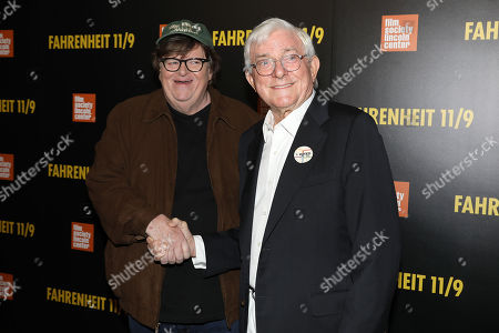Michael Moore (Director) and Phil Donahue