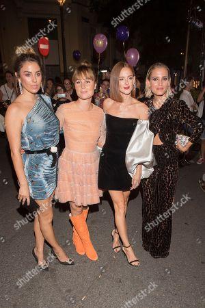 Nadia de Santiago, Blanca Suarez, Ana Polvorosa and Ana Fernandez