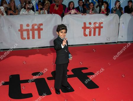Actor and cast member Parker Sevak arrives for the screening of the movie 'The Kindergarten Teacher' during the 43rd annual Toronto International Film Festival (TIFF) in Toronto, Canada, 13 September 2018.