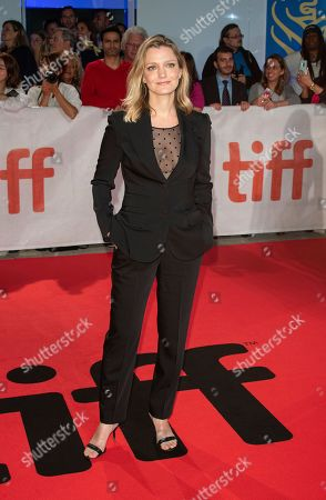 US director Sara Colangelo arrives for the screening of the movie 'The Kindergarten Teacher' during the 43rd annual Toronto International Film Festival (TIFF) in Toronto, Canada, 13 September 2018.