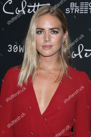 Editorial photo of 'Colette' film screening, Arrivals, New York, USA - 13 Sep 2018