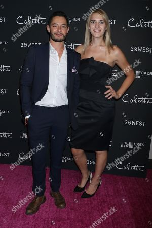 Jake Graf and wife Hannah Winterbourne