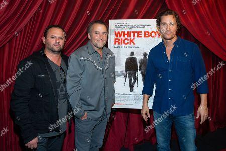 Scott Franklin, Richard Linklater and Matthew McConaughey