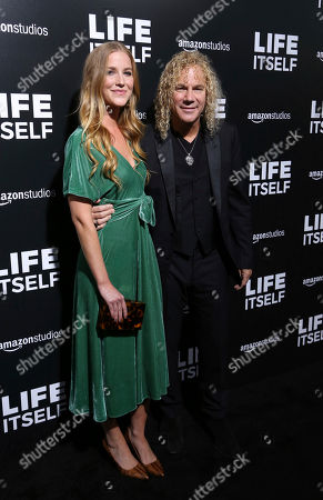"""Stock Photo of Lexi Quaas, David Bryan. Lexi Quaas, left, and David Bryan arrive at the LA Premiere of """"Life Itself"""" at the Hollywood Arclight, in Los Angeles"""