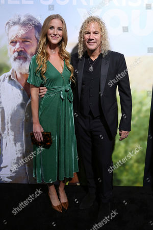"""Lexi Quaas, David Bryan. Lexi Quaas, left, and David Bryan arrive at the LA Premiere of """"Life Itself"""" at the Hollywood Arclight, in Los Angeles"""