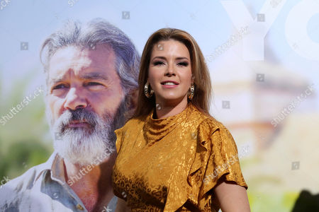 """Alicia Machado arrives at the LA Premiere of """"Life Itself"""" at the Hollywood Arclight, in Los Angeles"""