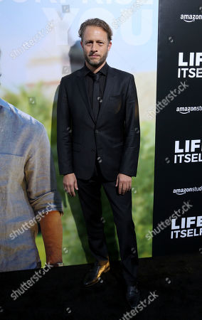 """Federico Jusid arrives at the LA Premiere of """"Life Itself"""" at the Hollywood Arclight, in Los Angeles"""