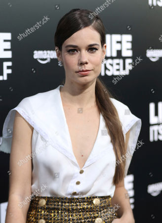 """Laia Costa arrives at the LA Premiere of """"Life Itself"""" at the Hollywood Arclight, in Los Angeles"""