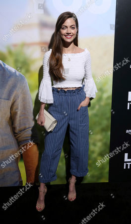 "Caitlin Carver arrives at the LA Premiere of ""Life Itself"" at the Hollywood Arclight, in Los Angeles"
