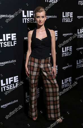 """Stock Picture of Isabel Durant arrives at the LA Premiere of """"Life Itself"""" at the Hollywood Arclight, in Los Angeles"""