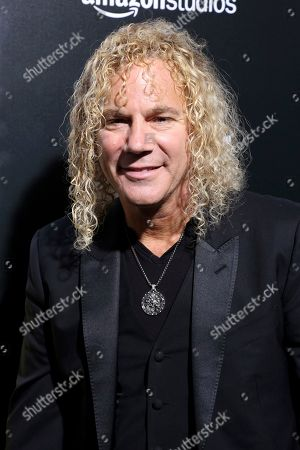 """Stock Image of David Bryan, member of Bon Jovi arrives at the LA Premiere of """"Life Itself"""" at the Hollywood Arclight, in Los Angeles"""