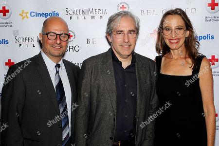 Stock Picture of Anthoney Weintraub (Producer, Screenwriter), Paul Weitz (Director, Screenwriter), Caroline Baron (Producer)