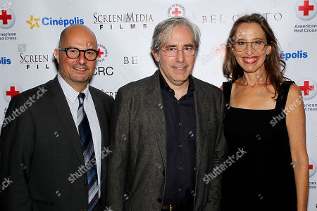 Stock Photo of Anthoney Weintraub (Producer, Screenwriter), Paul Weitz (Director, Screenwriter), Caroline Baron (Producer)