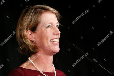 State attorney general candidate Zephyr Teachout delivers her concession speech at the Working Families Party primary night party, in New York. New York City Public Advocate Letitia James defeated a deep field of fellow Democrats: U.S. Rep. Sean Patrick Maloney, Fordham law professor Teachout and former Hillary Clinton adviser Leecia Eve