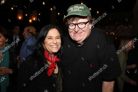 Barbara Kopple and Michael Moore (Director)