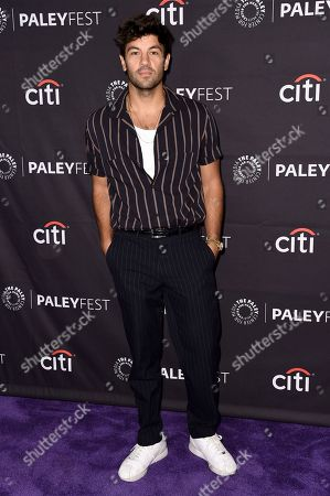 "Jordan Masterson attends the 2018 PaleyFest Fall TV Previews ""Last Man Standing"" at The Paley Center for Media, in Beverly Hills, Calif"