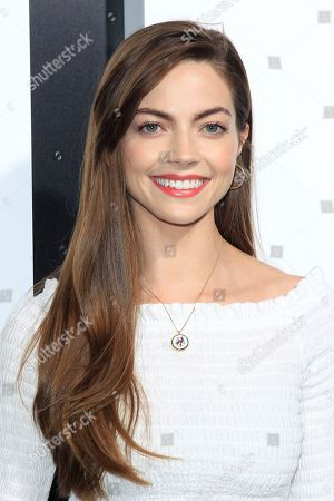 US actress Caitlin Carver at the Premiere of Amazon Studios' Life Itself at ArcLight Cinerama Dome in Los Angeles California, USA, 13 September 2018. The film opens in US theaters on 21 September 2018.