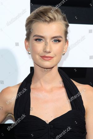 Stock Image of Australian actress/cast member Isabel Durant at the Premiere of Amazon Studios' Life Itself at ArcLight Cinerama Dome in Los Angeles California, USA, 13 September 2018. The film opens in US theaters on 21 September 2018.