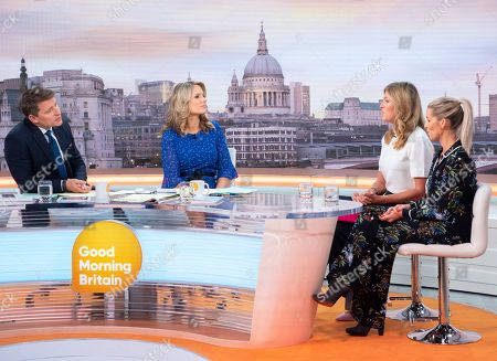 Ben Shephard and Charlotte Hawkins, Marina Fogle and Leanne Brown