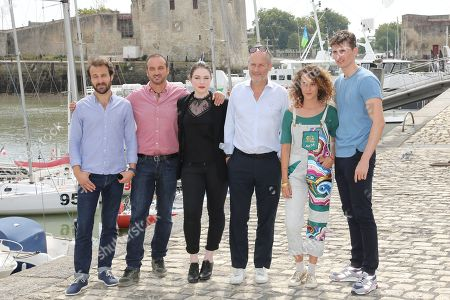 Editorial picture of 'A l'interieur' photocall, La Rochelle TV Fiction Festival, France - 13 Sep 2018