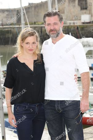 Stock Picture of Julie Mahieu and Geert Van Rampelberg