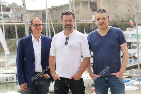Peter Bouckaert, Geert Van Rampelberg and Philippe De Schepper
