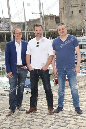Editorial picture of 'De Infiltrant' photocall, La Rochelle TV Fiction Festival, France - 13 Sep 2018