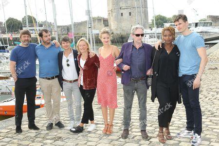 Wim Willard, Benoit Thibault, Guillaume Toucas, Marie Matheron, Tiphaine Daviot, Eric Naggar, Marie-Sohna Conde and Raphael Quenard