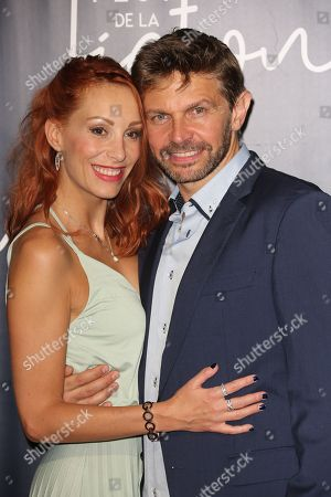 Stock Photo of Julia Dorval and Aliocha Itovich